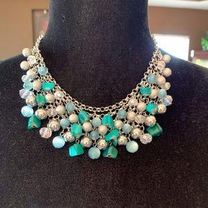 Fashion jewelry, necklace, chic, gems stones